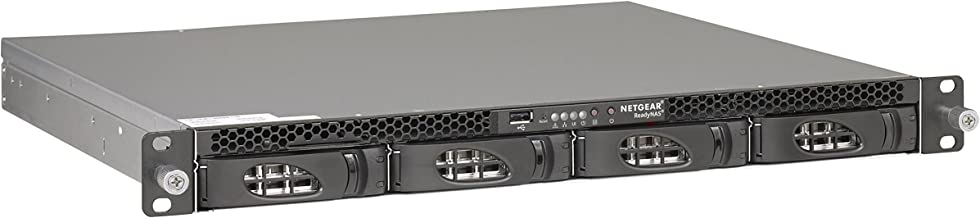 NETGEAR ReadyNAS 3138 1U Rackmount 4-Bay Network Attached Storage, Diskless (RN3138-100NES)