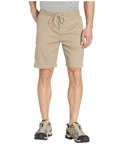 Prana Sanger Camp Shorts (Dark Khaki) Men