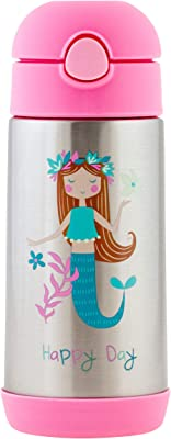 Double Wall Stainless Steel Bottle - Mermaid