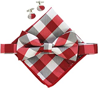 Best grey suit red bow tie Reviews