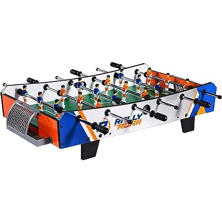 Mini calcio balilla con accessori, biliardino per adulti e bambini, divertente, portatile, per sala giochi, camera, bar, serate in famiglia