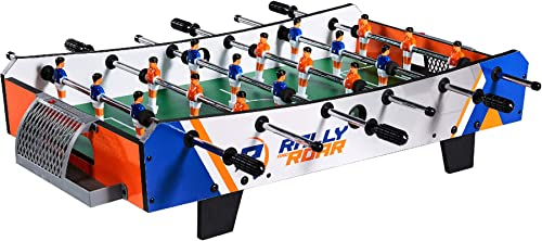 Rally and Roar Foosball Tabletop Games and Accessories, Mini Size - Fun, Portable, Foosball Soccer Tabletops Soccer -...