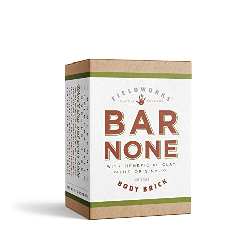 Organic All Natural Body Wash Soap. Anti-fungal, Anti-Bacterial. Aloe, Shea Butter, Bentonite and Essential Oils. Concentrated-Long Lasting, Eco-Friendly. (1 Pack - Bar None)