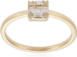 [ベルシオラ] BELLESIORA 【 K18YGダイヤモンドリング 】 4017231100303007 日本サイズ7号