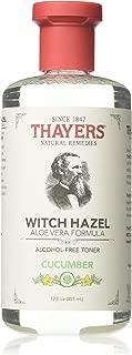 Thayers Witch Hazel Toner With Aloe Vera Formula Alcohol-Free Cucumber - 12 Oz, Pack of 3