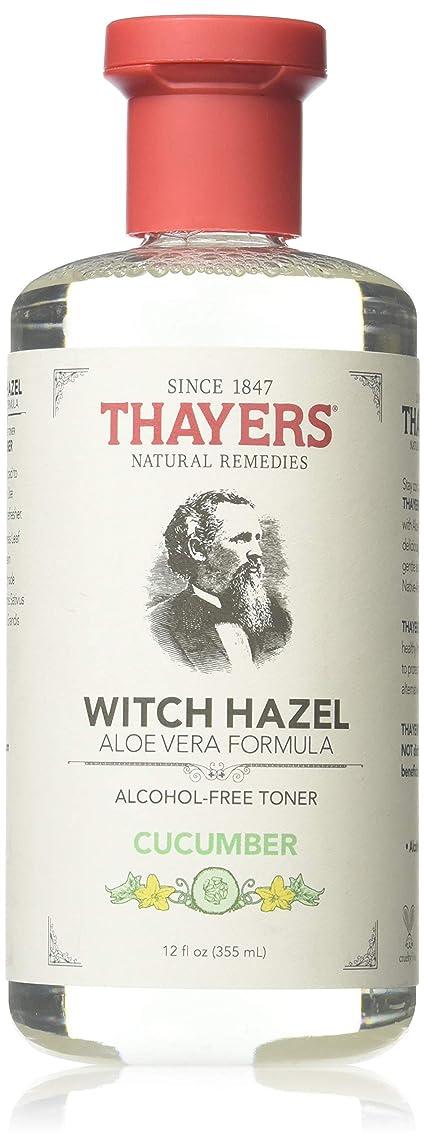小川見えない不適当x Thayers Witch Hazel with Aloe Vera Cucumber - 12 fl oz by Thayer's