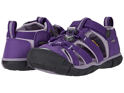 Keen Kids Seacamp II CNX (Toddler/Little Kid) (Royal Purple/Lavender Gray) Girls Shoes
