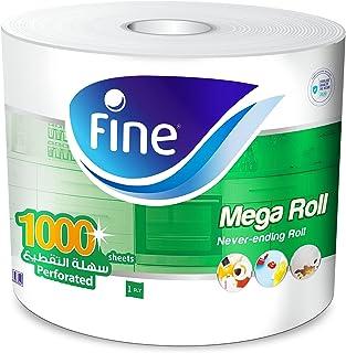Fine Sterilized Kitchen Towel Mega Roll, 1000 Sheets - Pack of 1