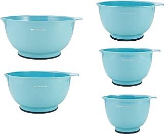 KitchenAid Mixing Bowls, Set of 5, Aqua Sky - KC178OSAQA