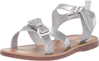 27db648c59b0c3 OshKosh B Gosh Kids Dee Girl s Glitter-Accented Sandal