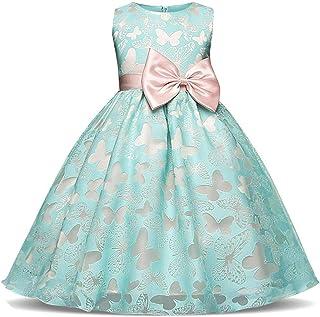 Surprise S Kids Girl Wedding Flower Girls Dress Princess Formal Dress Prom Little Baby Girl Birthday Dress