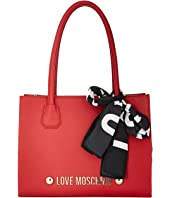 LOVE Moschino - Tote with Love Moschino Scarf