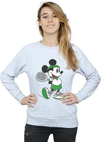 Disney mujer Mickey Mouse Tennis Camisa De Entrenamiento ...