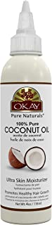 Sponsored Ad - OKAY | 100% Pure Coconut Oil | For All Hair Textures & Skin Types | Ultra Skin Moisturizer & Promotes Healt...