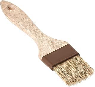 Royal Industries Bastry Brush, Wood Handle, Natural Boar Bristle, Plastic Band, 2