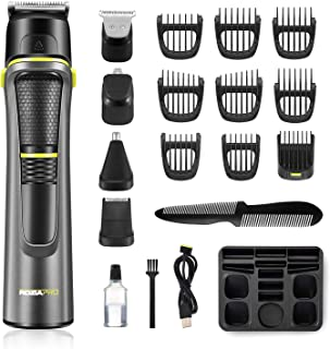 Roziahome Beard Trimmer Professional Hair Clippers for...