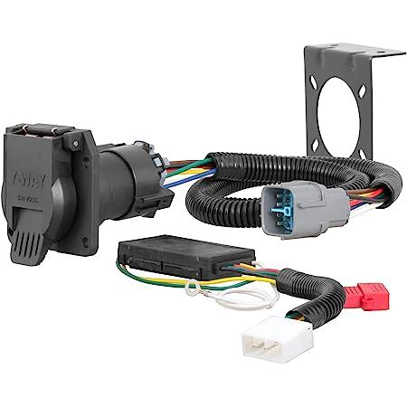 amazon.com: curt 56366 vehicle-side custom rv blade 7-pin trailer wiring  harness, select honda pilot, ridgeline: automotive  amazon.com
