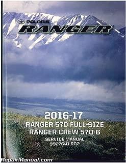 9927641 2016-2017 Polaris Ranger 570 ATV Service Manual