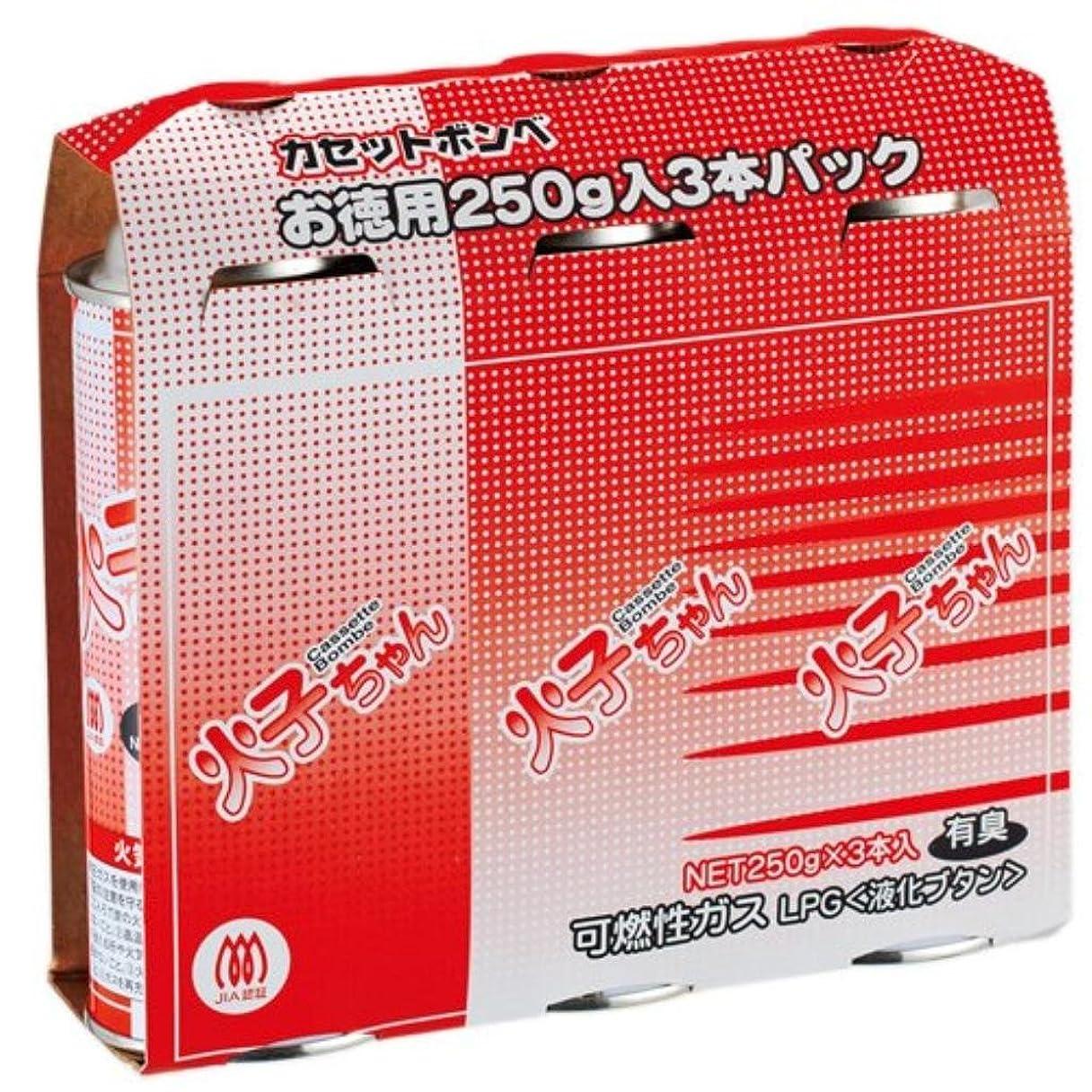 押し下げる小麦粉チャールズキージング(まとめ買い)TTS カセットボンベ 火子ちゃん 3本入 【×8セット】