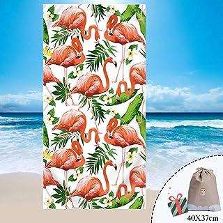 150x70cm,Corallo Telo Mare Antisabbia Microfibia Assorbente Asciugamano da Spiaggia Tappetino Spiaggia per Bagno La Piscina Yoga Nuoto Odot Telo da Mare Grande 2 Regalo