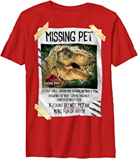 red dinosaur t shirt