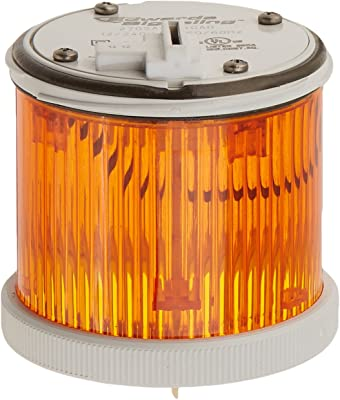 Edwards Signaling 270SA12240AD 200 Class Stacklight with Incandescent/LED Bulb Module, 70mm