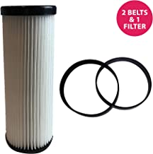 Think Crucial Replacement for Dirt Devil F1 Filter & Style 4 & 5 Belts, Compatible with Part # 3JC0280000, 1540310001 & 3720310001