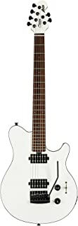 Best Sterling By MusicMan 6 String Sterling by Music Man Axis AX3S Electric Guitar Body, White with Black Binding (AX3S-WH-R1) Review