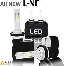 Alla Lighting LED H11 Headlight Bulb L-NF Vision 8400lm Xtreme Bright H8 H9 H11 LED Headlight Bulb Xenon H11 6000K~6500K White All In One Headlamp Conversion Kits LED Headlight Bulbs H11 (Set of 2)
