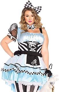 Leg Avenue Women's 3 Piece Psychedelic Alice Costume