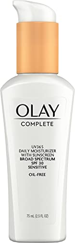 Olay Complete Lotion Moisturizer with SPF 30 Sensitive, 75 mL (Pack of 2)