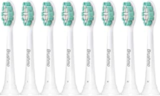 Brushmo Replacement Toothbrush Heads Compatible with...