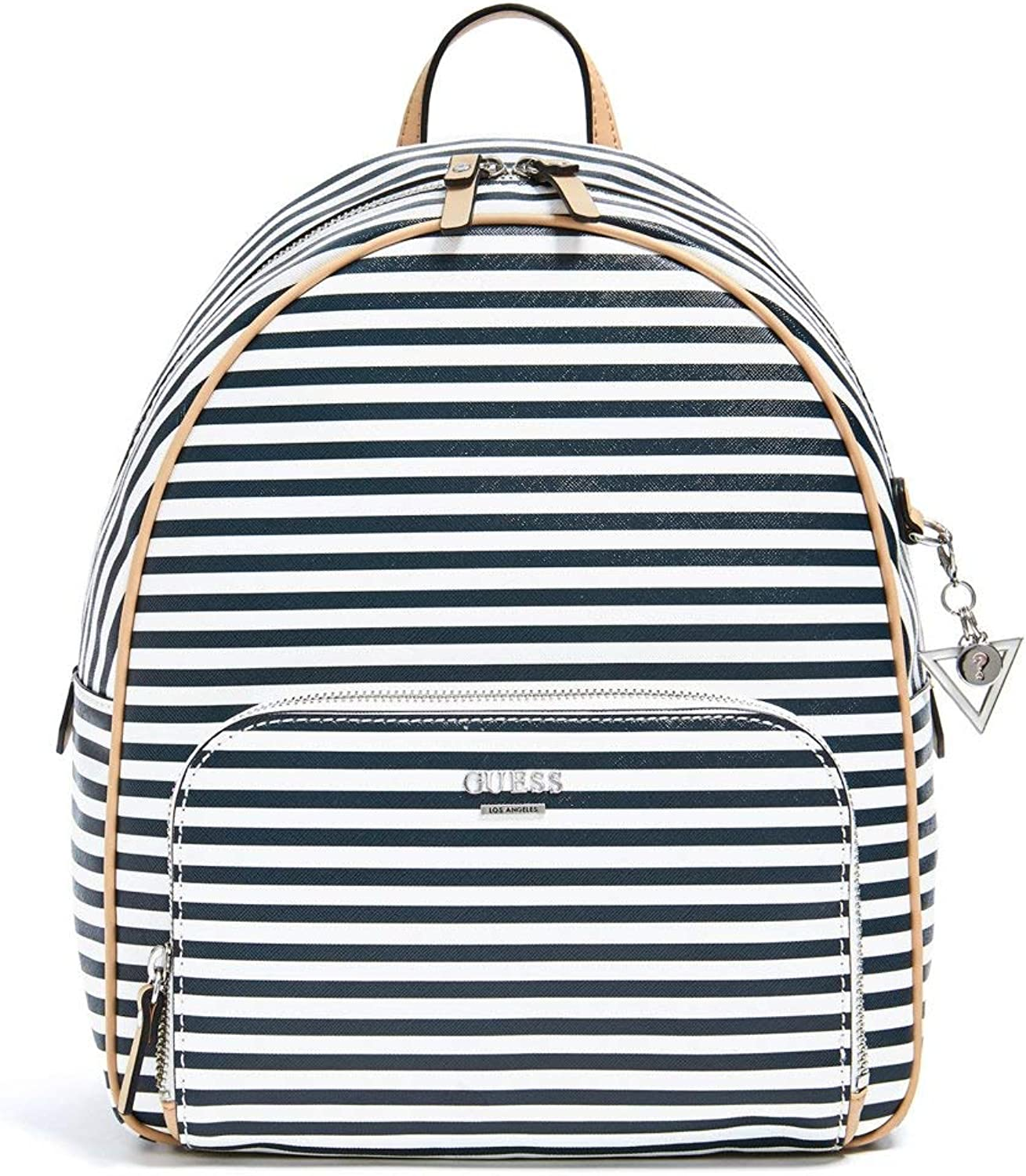 GUESS Factory Women's Elize Striped Backpack