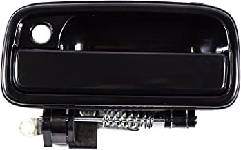 Replacement Front Left Driver Side Smooth Black Door Handle for 01-04 Toyota Tacoma TO1310128 (2001, 2003, 2004)