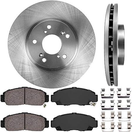 See Desc. OE Replacement Rotors w//Ceramic Pads F+R 2003 Honda Accord Cpe V6