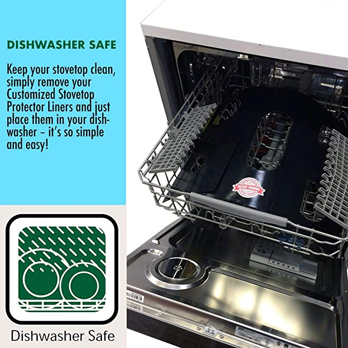 Tools & Home Improvement Easy Cleaning Stove Liners for GE Model ...