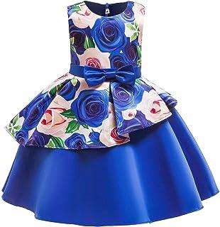 فساتين حفلات الزفاف للاطفال للفتيات، فساتين موردة ثياب الفتيات الصغيرات، فستان عيد الميلاد للاطفال 2-10 سنوات