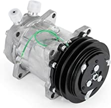 Mophorn ABPN83304052 4509 4510 CO 4510PC Universal Air Conditioner A/C Compressor SD508 for 2011-2014 Freightliner MCL6.7L 2012-2014 Mack GU810.8L 12.8L Sanden Pulley AC Compressor