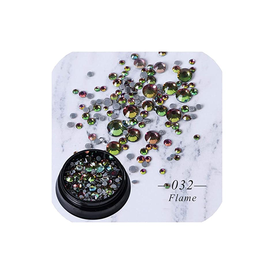 Rhinestones Flat Back Crystal Glass Stone Sewing Fabric Garment Gem Strass Nail Art Decoration Accessories,032