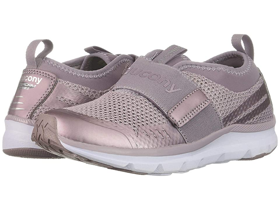 Saucony Kids Liteform Stretch Go (Little Kid) (Dusty Purple) Girls Shoes