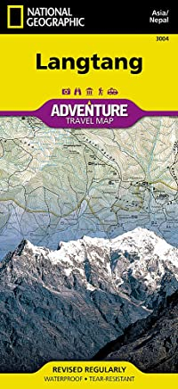 National Geographic Trails Illustrated Adventure Map Langtang: Nepal
