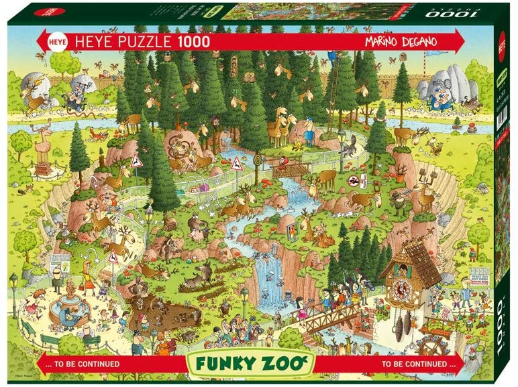 NEW Heye New York Quest by eBoy 1000 piece comic cartoon jigsaw puzzle 29914