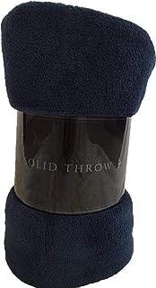 La Casa Plush Sherpa Throw Blanket for Couch Sofa 100% Polyester Fleece Throw, Soft, Cozy, Lightweight 50