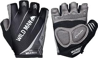 Epessa Ultralight Half Finger Cycling Gloves,Breathable Gloves,Anti-Slip Shock-Absorbing Work Gloves,Mountain Road Bike Gloves Men/Women