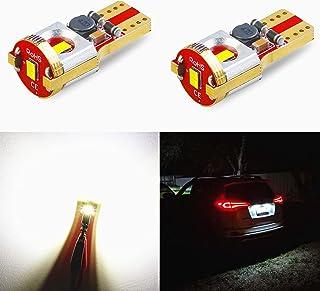 Car-EyeQ T10 Wedge 194 168 LED Bulbs 175 2825 W5W, 6000K Xenon White 12V Interior, Map, Dome, Trunk, License Plate, Side M...