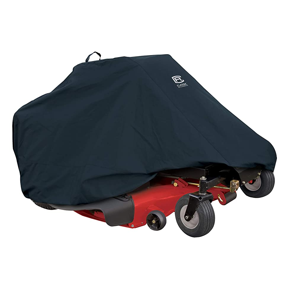 Classic Accessories Zero Turn Riding Mower Cover, Up to 60