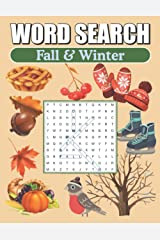Word Search Fall & Winter: Large Print Word Find Puzzles Paperback