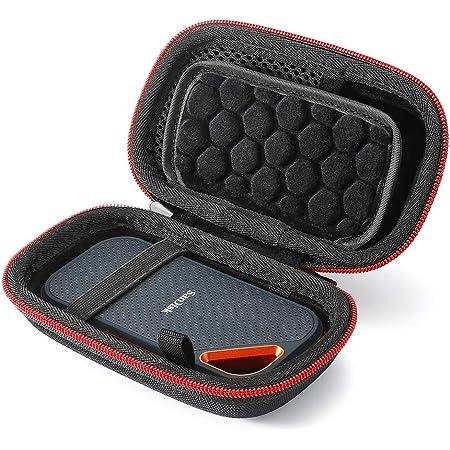 Bolsa de Transporte de Viaje EVA Dura 500 GB 1TB 2TB LTGEM Funda para SanDisk Extreme Portable SSD 250 GB