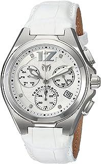 [テクノマリーン]TechnoMarine 腕時計 'Manta' Quartz Stainless Steel and Leather Casual Watch, TM-215016 メンズ [並行輸入品]