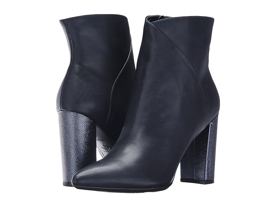 Nine West Argyle (Navy Leather) Women